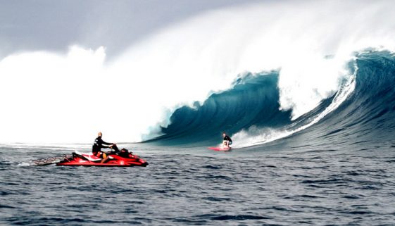 Image by Jeff Rowley Big Wave Surfer, flickr creative common