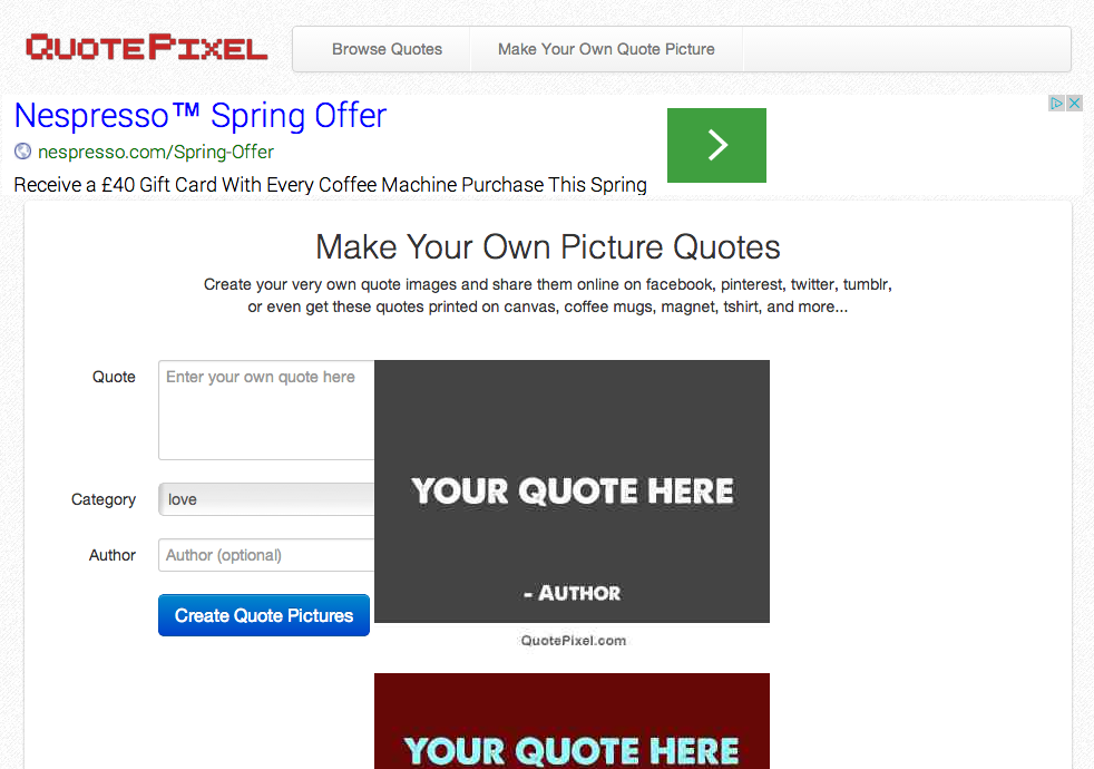 Top 20 Web Apps To Create Picture Quotes And Meme Posters Colour