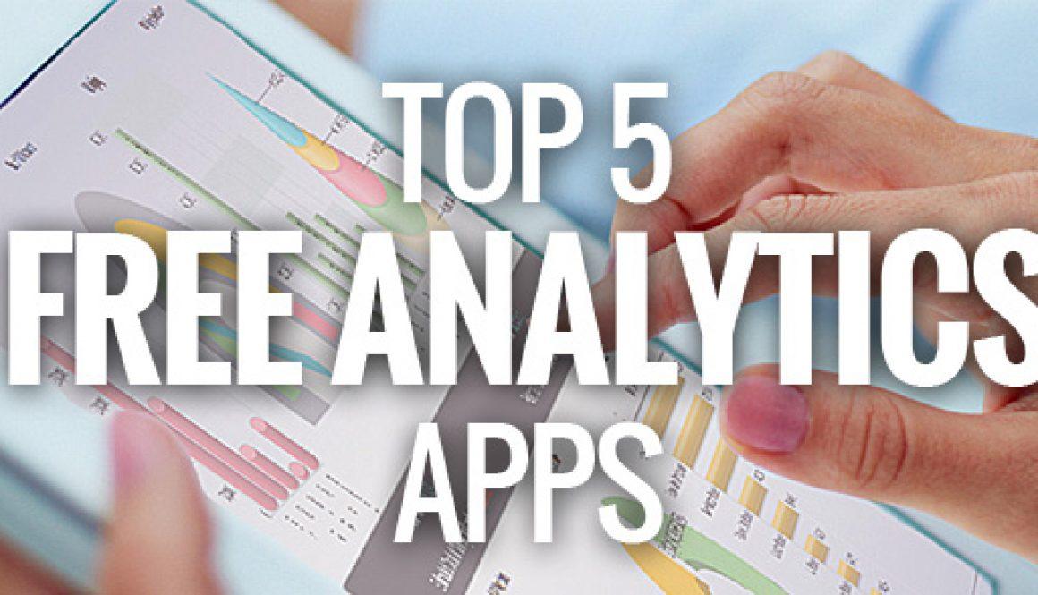 Top5FreeAnalyticsApps