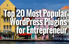 Top 20 Most Popular WordPress Plugins for Entrepreneurs