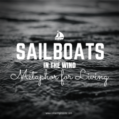 Sailboats in the Wind – A Metaphor for Living