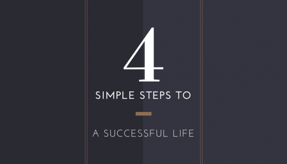4SimpleStepsToASuccessfulLife