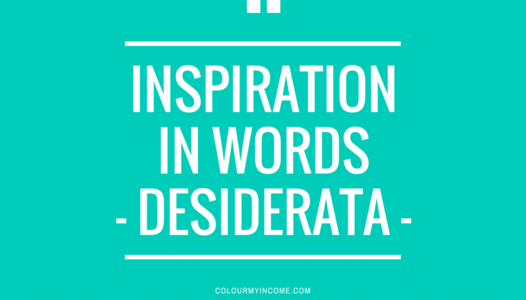 InspirationInWords