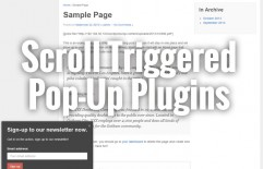 Best Free Scroll Triggered Pop-up Box Plugins – Get it up under 2 minutes