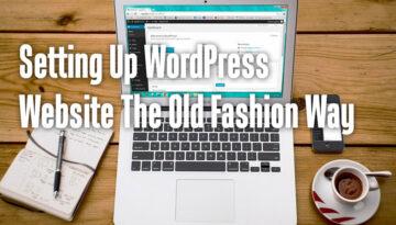 WordPressWebsiteOldFashion